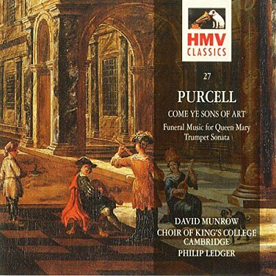 Purcell: Come Ye Sons of Art -  CD VAVG The Cheap Fast Free Post The Cheap Fast
