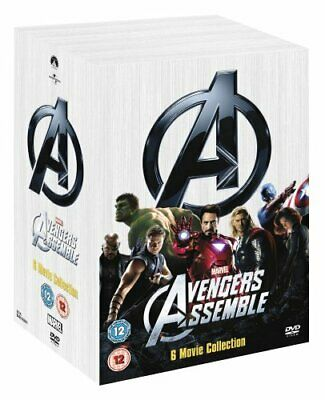 Marvel's The Avengers 6-Movie Collection [DVD] [2008] - DVD  V0VG The Cheap Fast