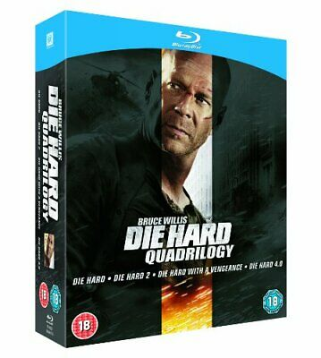 Die Hard Quadrilogy [Blu-ray] [1988] - DVD  82VG The Cheap Fast Free Post