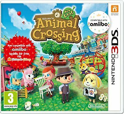 Animal Crossing: New Leaf (Nintendo 3DS) - Game  5SVG The Cheap Fast Free Post