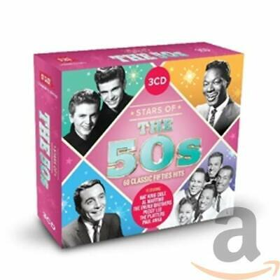 Various - Stars Of The 50s: 60 Classic Fifties Hits - Various CD ZGVG The Cheap