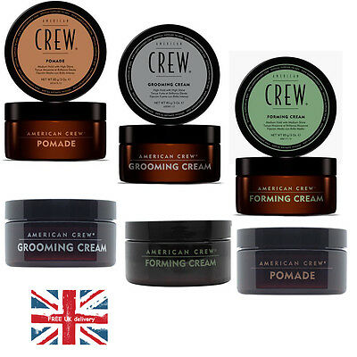 American Crew Styling Hair Pomade Foaming Cream and  Grooming Cream 85g