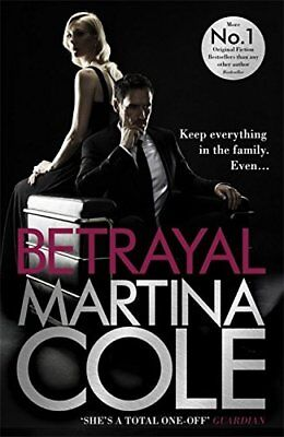 Betrayal, Cole, Martina Book The Cheap Fast Free Post