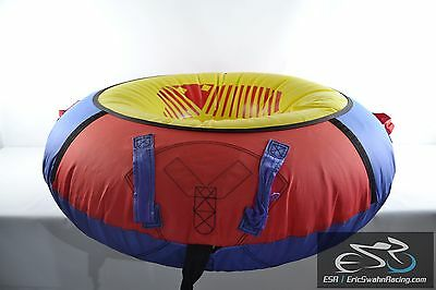 1 Person Inflatable Towable Inner Tube for Boating Water Sports