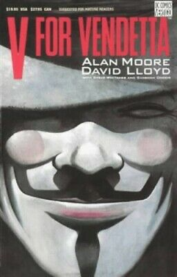 V for Vendetta by Lloyd, David Paperback Book The Cheap Fast Free Post