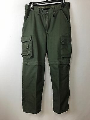 Boy Scouts Of America Switchback Uniform Pants Convertible Ladies size 8 Girl
