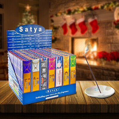 Satya Various Incense Sticks In Pack Of 3 Or Pack Of 12
