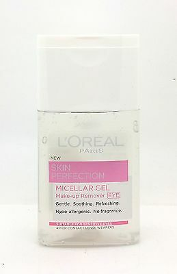 L'Oreal Paris Skin Perfection Micellar Gel MakeUp Remover Eye 125ml