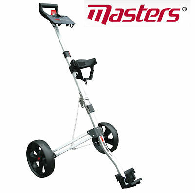 *new 2017* Masters 5 Series Compact 2 Wheel Pull Trolley Silver