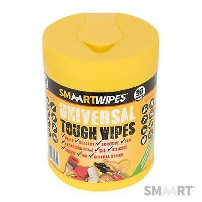 Smaart Tough Cleaning Wipes 90pk Tub Ideal for Paint, Tar, Silicone etc