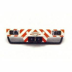 Wedico 1/16th Truck Bumper for Mercedes 3850.