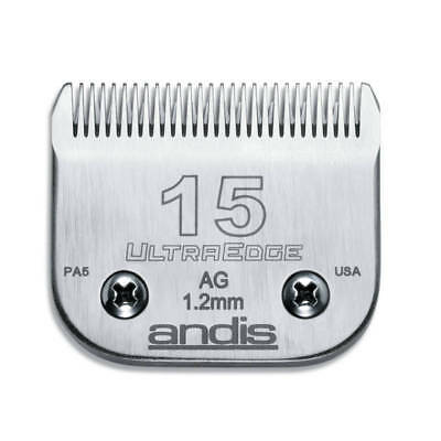 Andis UltraEdge Detachable Blade, Size 15 - Leaves 1.2mm