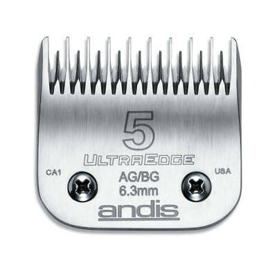 Andis UltraEdge Blade Size 5 Leaves 6.3mm Fits AGC/AGR+ & Oster