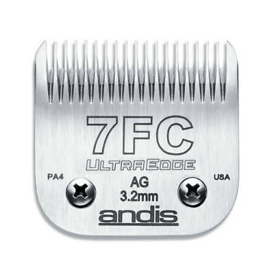 Andis UltraEdge Detachable Blade, Size 7FC - Leaves 3.2mm Fits AGC/AGR+ & Oster