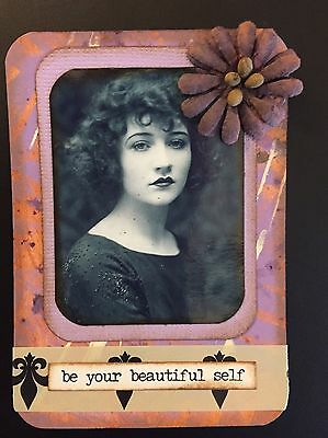 ACEO ATC Art Card Mixed Media Collage
