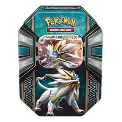 Pokemon TCG Legends of Alola Solgaleo GX Tin