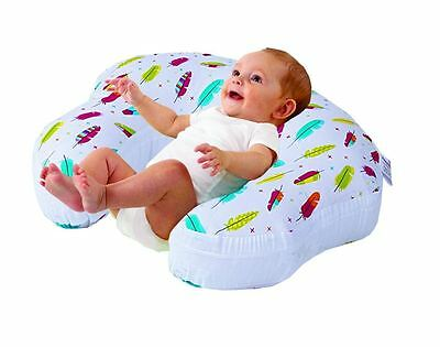 Love2Sleep BABY FEEDING/ NURSING PILLOW - COMPLETE SUPPORT - FEATHERS