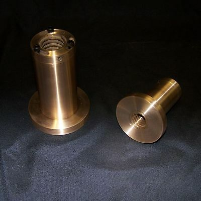 """1"""" 5 Pitch Right Hand Adjustable Flange Type Acme Bronze Nut"""