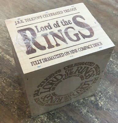 The Lord Of The Rings Complete Audio Book Set *Brand New*