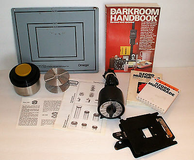 vintage Darkroom Equipment Accessories Beseler Omega Ilford LOT