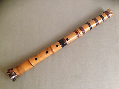 SALE PUERTO RICO RELIEF JAPANESE 1.8 JAPANESE SHAKUHACHI FLUTE by PERRY YUNG