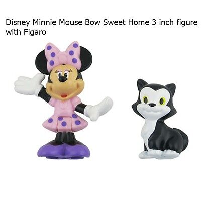 Fisher-Price® Disney Minnie Mouse Bow Sweet Home 3 inch Minnie Figure & Figaro