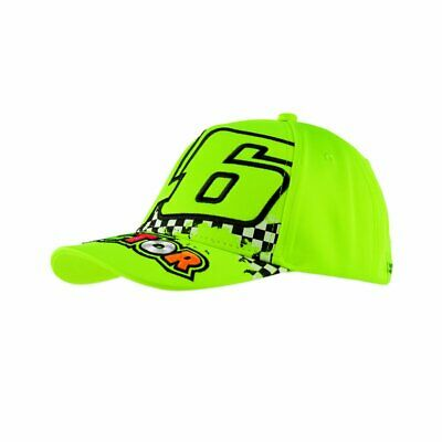 New Official Valentino Rossi VR46 Kids Yellow Doctor Cap  - VRKCA 264528
