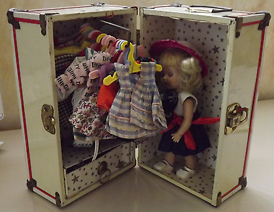 Ginny Doll with Trunk full of Clothes some custom made at Madame Alexander