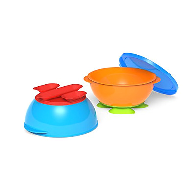 Gerber Graduates Tri-Suction Bowls, 3-Piece Set