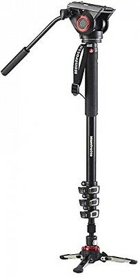 Manfrotto Xpro Monopod With Fluid Video Head - Black