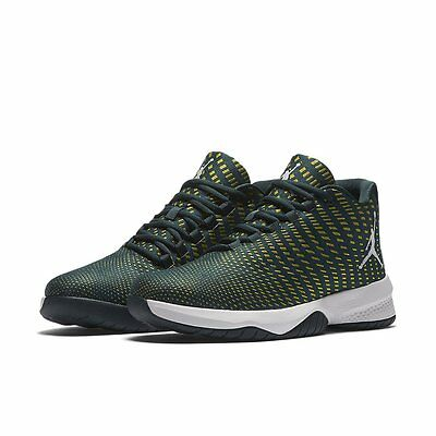 new concept 61a85 72bfe Jordan B Fly Electrolime   881444-405   Men s NK Air Woven Armory Navy White