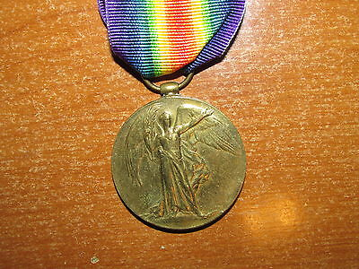 WW1 British Victory Medal named Royal Warwickshire Regiment