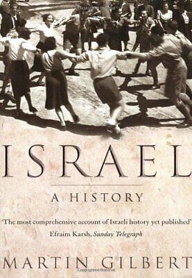 Israel: A History by Gilbert, Dr Martin Paperback Book The Cheap Fast Free Post