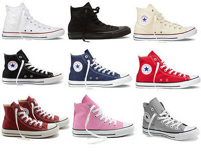 New Women Lady ALL STARs Chuck Taylor Ox High Top shoes Canvas Sneakers