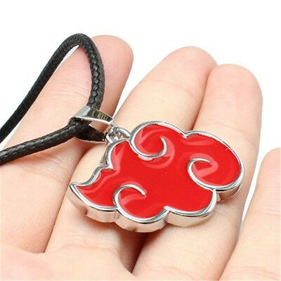 Naruto Sasuke Itachi Akatsuki Cloud Pendant Necklace Jewelry