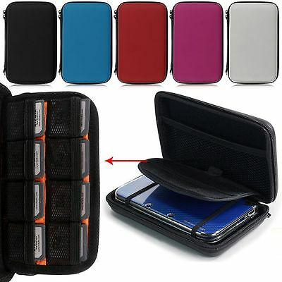 Protective EVA Hard Case Travel Carry Bag Pouch For Nintendo 3DS LL NDSI NDSL AU