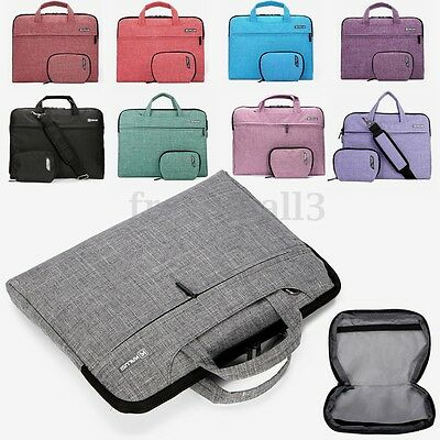 13 14 15'' Custodia Borsa A Tracolla Spalla Porta Laptop Pc Notebook Documenti