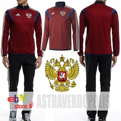 ADIDAS RUSSIA TRACK TOP Jacket World Cup Soccer Footbal