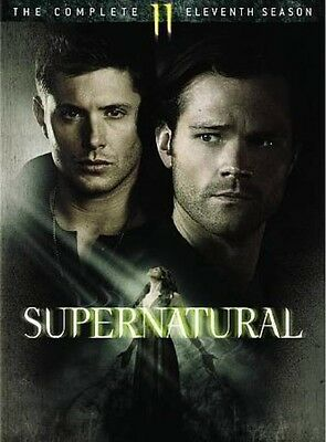 Supernatural: The Complete Eleventh Season 11 (DVD, 2016, 6-Disc Set)