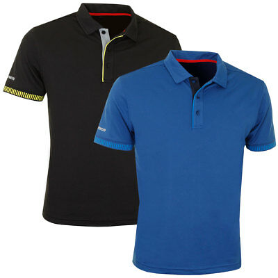 63% OFF RRP Sunice 2017 Mens Rheims SS Golf Polo Shirt Stretch Moisture Wicking