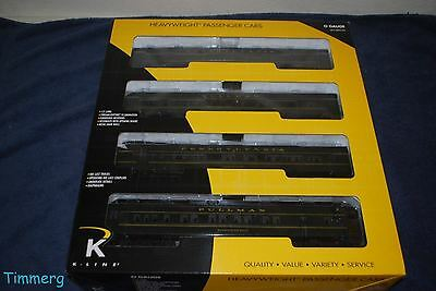 "K-Line K-4880B Pennsylvania Brunswick Ltd 15"" Heavyweight 4-Pack Set MIB **"