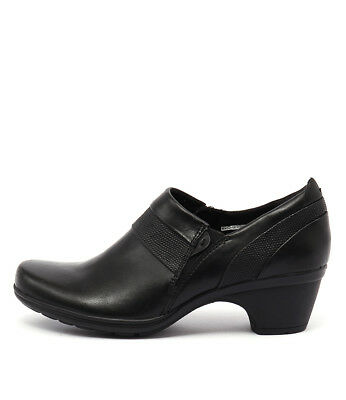 New Planet Minnie Pl Black Womens Shoes Casual Shoes Heeled
