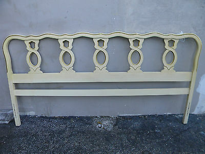 French King-Size Painted Headboard 1698