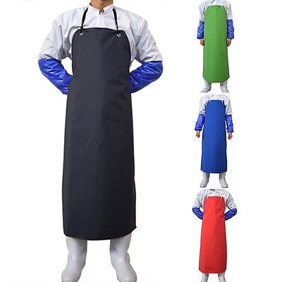 Latest Waterproof Apron Chef Restaurant Farm Butcher Fishing Cleaning Workwear
