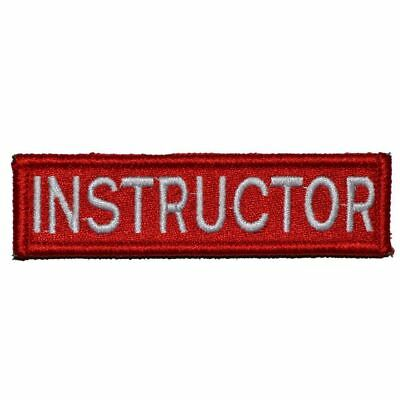 Instructor Nametape - 3.75x1 Rear Hat Patch