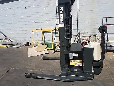 Nissan Electric Stacker Fork lift