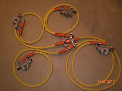 "Electrical Grounding set, SALISBURY Four Way Grounding, ""A Safety Must"""