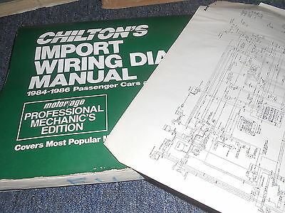 1985 honda civic crx si wiring diagrams schematics manual sheets set