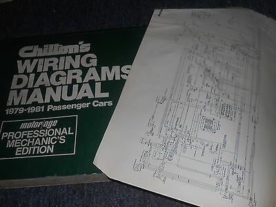 1981 ford thunderbird/ cougar xr7 wiring diagrams schematics manual sheets