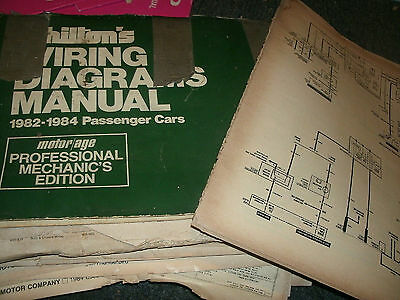 1983 buick skyhawk oversized wiring diagrams schematics manual sheets set